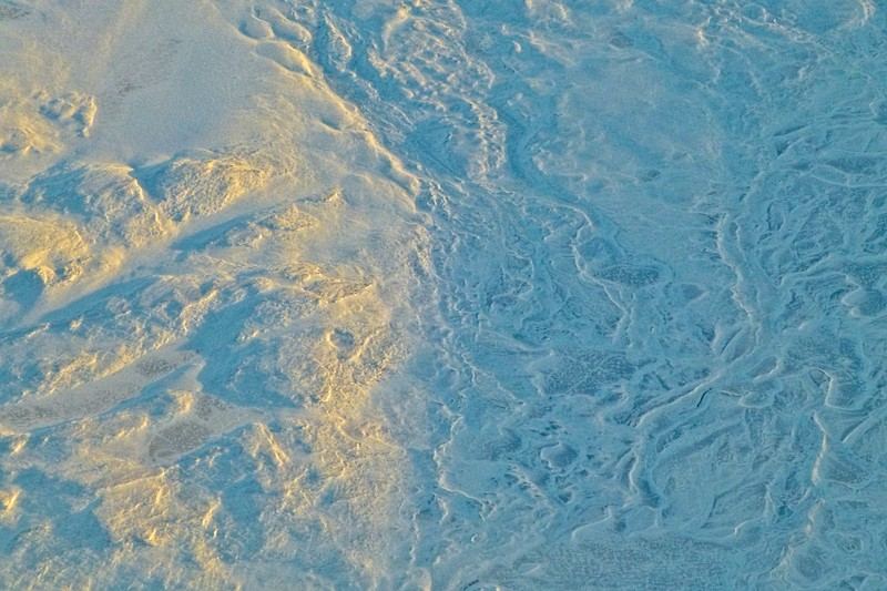 Canadian tundra aerial.<br /> Photo © Carl Clark