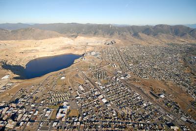 Berkeley Pit Butte Montana Aerial Photograph