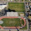 Aerial Photo of Butte Bulldogs Football Stadium Butte Montana