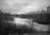 Wabigoon River as it flows through Dryden Ontario.