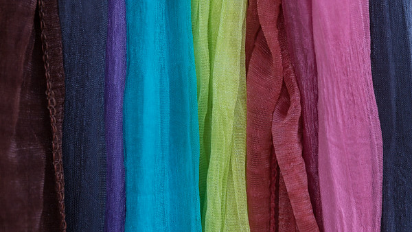 Rainbow in Scarves