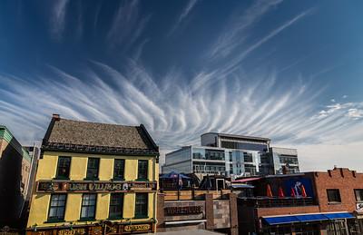 Pub and Sky