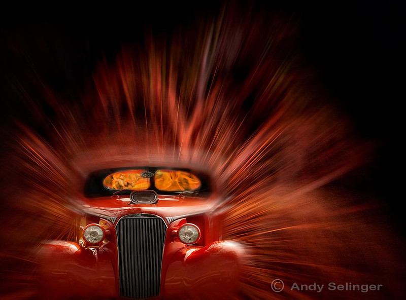 car shot at Coolangatta, looking fired up, creative