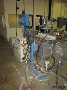 Extruder System, temperature control unit other support equipment