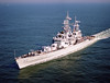 USS Bainbridge (CGN-25)<br /> <br /> Date: October 27 1989<br /> Location: Hampton Roads VA<br /> Source: Nobe Smith - Atlantic Fleet Sales