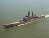 USS California (DLGN-36)<br /> <br /> Date: April 3 1974<br /> Location: Hampton Roads VA<br /> Source: Nobe Smith - Atlantic Fleet Sales