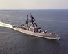 USS Leahy (CG-16)<br /> <br /> Date: June 1973 <br /> Location: Hampton Roads VA<br /> Source: Nobe Smith - Atlantic Fleet Sales