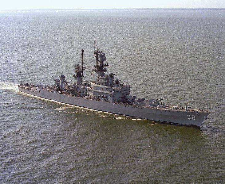 USS Richmond K. Turner (CG-20)<br /> <br /> Date: August 29 1975<br /> Location: Hampton Roads, VA<br /> Source: Nobe Smith - Atlantic Fleet Sales