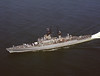 USS Leahy (CG-16)<br /> <br /> Date: September 12 1974<br /> Location: Hampton Roads VA<br /> Source: Nobe Smith - Atlantic Fleet Sales