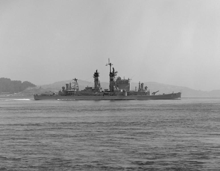 USS Chicago (CG-11)<br /> <br /> Date: May 12 1978<br /> Location: West Coast<br /> Source: Nobe Smith - Atlantic Fleet Sales