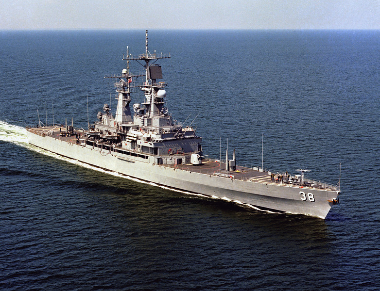 USS Virginia (CGN-38)<br /> <br /> Date: March 31 1978<br /> Location: Hampton Roads, VA<br /> Source: Nobe Smith - Atlantic Fleet Sales