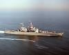 USS Bainbridge (CGN-25)<br /> <br /> Date: March 7 1988<br /> Location: Hampton Roads VA<br /> Source: Nobe Smith - Atlantic Fleet Sales