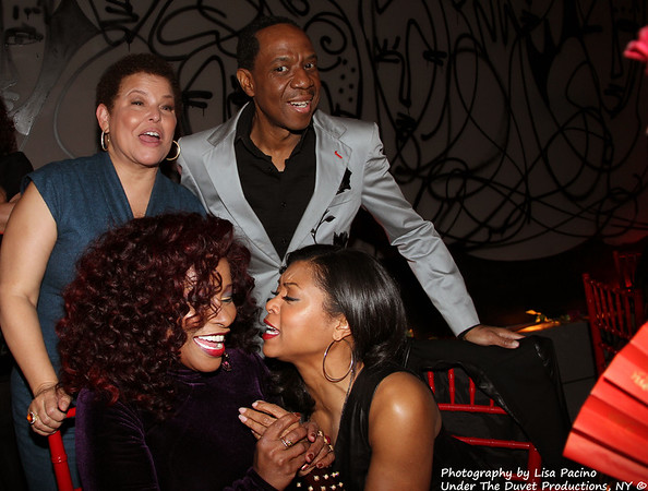 CHAKA KHAN'S PRIVATE BIRTHDAY DINNER BASH at EVR, New York, March 26, 2013 with stellar guest list. MORE PHOTOS TO FOLLOW of Guests & OF CHAKA.
