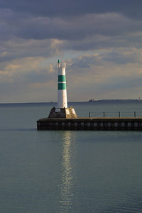Montrose Harbor entrance