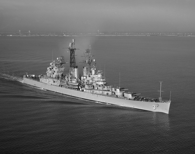 USS Galveston (CLG-3)<br /> <br /> Date: November 28 1960<br /> Location: Hampton Roads VA<br /> Source: Nobe Smith - Atlantic Fleet Sales<br /> Other dates: 6/58 9/59 9/62 6/65 10/69