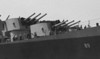 USS Miami (CL-89)<br /> (Detail of crew athwartships)<br /> <br /> Date: Possibly May 24 1945 returning from Pacific.<br /> Location: San Francisco Bay<br /> Source: Nobe Smith - Atlantic Fleet Sales
