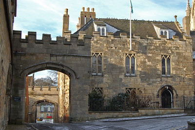 The Entrance to The Bishops Palace