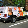 CAT CLINIC VAN WITH WILLIE'S PICTURE