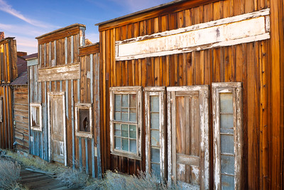 Virginia City China Town Buildings