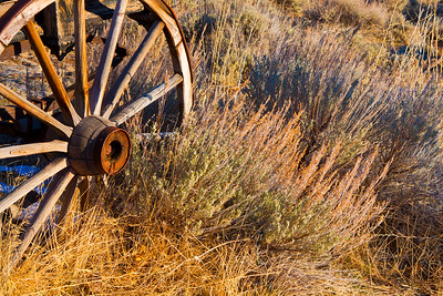 Virginia City Wagon Wheel