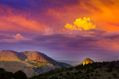 Sunset Sugar Loaf Sunset Virginia City