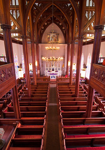St Marys Upstairs Interior Shot