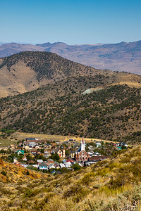 Above Virginia City