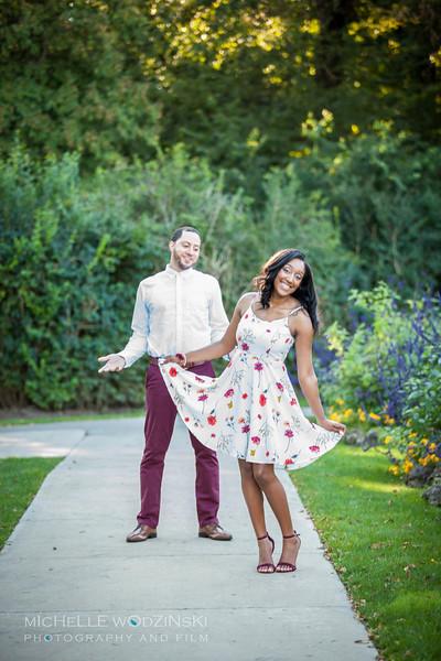 Brittney & Devon - Engagement Portraits-3475