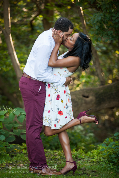 Brittney & Devon - Engagement Portraits-3383