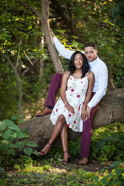 Brittney & Devon - Engagement Portraits-3456