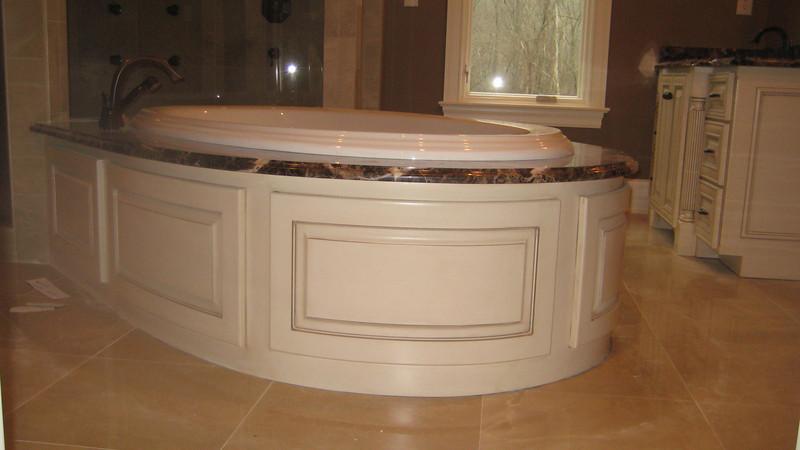 Custom Radius Tub surround