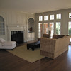 Custom Built-ins on either side of Custom mantel with overmantel