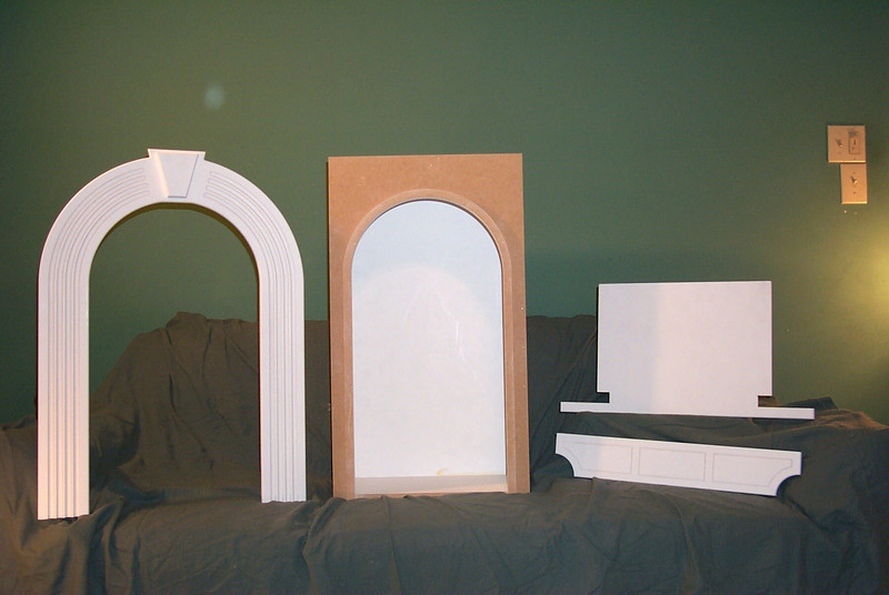 Niche Rough-in box with complete trim package starting at $150.00