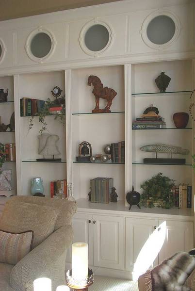 Nautical Themed Bookcase