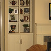 Shaker Style Built-in Unit w/flat panel doors