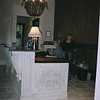Side view of the Reception Desk