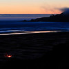 <b>Campfire on the beach</b>   Agate Beach, Oregon