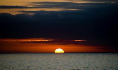 Sunset, Mendocino, California