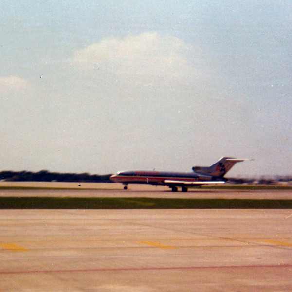 """AND HE'S OFF<br /> Love Field, Dallas, Texas - August 1971<br /> <br /> And I'm rolling down the runway. California, here I come! Once I landed at LAX Airport, I had a three-hour wait for the next bus up the coast so I amused myself by plunking quarters in one of the pay TVs mounted onto chairs. While thus engrossed, a smarmy shyster came up and tried to sell me a """"diamond"""" ring, even going so far as to prove it was a diamond by scatching it right across the plexiglass covering the screen of my TV. I told him he was a total idiot and he'd better get the hell away from me immediately, which he did. Just because I was a guy in uniform didn't mean I was an easy mark. At last the bus arrived, and on it's way to Pt Mugu, it stopped at what seemed like every street corner between LA and the base, taking yet another three hours or more to cover what could have been traveled in an hour. I arrived at Pt Mugu around midnight tired, frustrated, and very sleepy, but glad to finally be there."""
