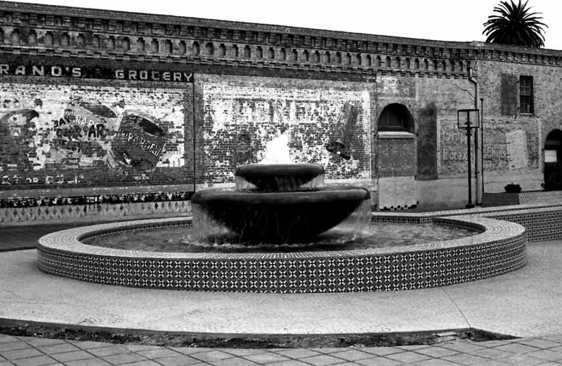 VENTURA FOUNTAIN<br /> This is the fountain in front of the San Buenaventura Mission in old downtown Ventura.