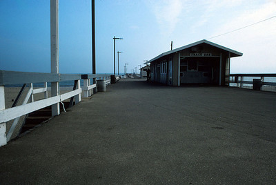VENTURA PIER Looks deserted, doesn't it? Well, stand by as we move on.