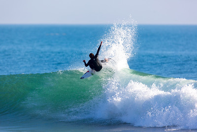 Surfing  at Rincon,USA  Date: Jan 20, 2014 Time: 07:16.PM Model: Canon EOS 5D Mark III Lens: EF600mm f/4L IS USM