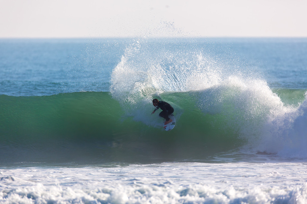 Surfing  at Rincon,USA <br /> Date: Jan 20, 2014<br /> Time: 07:15.PM<br /> Model: Canon EOS 5D Mark III<br /> Lens: EF600mm f/4L IS USM