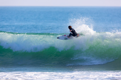 Surfing  at Rincon,USA  Date: Jan 20, 2014 Time: 07:15.PM Model: Canon EOS 5D Mark III Lens: EF600mm f/4L IS USM