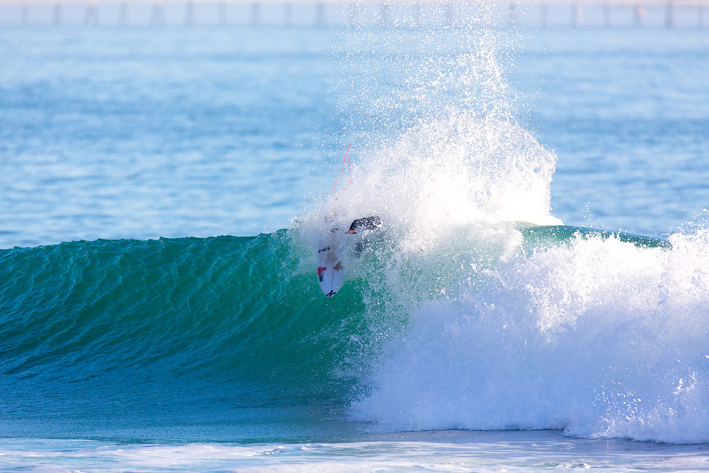 Surfing  at Rincon,USA <br /> Date: Jan 22, 2014<br /> Time: 07:55.PM<br /> Model: Canon EOS 5D Mark III<br /> Lens: EF600mm f/4L IS USM