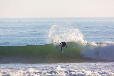 Surfing  at Rincon,USA  Date: Jan 22, 2014 Time: 08:00.PM Model: Canon EOS 5D Mark III Lens: EF600mm f/4L IS USM
