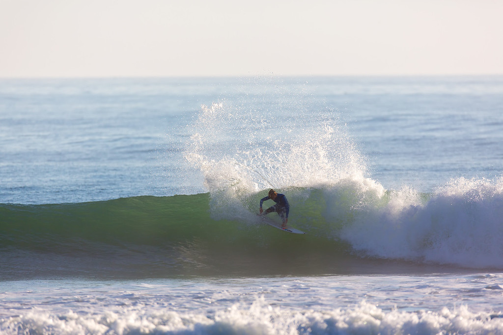 Surfing  at Rincon,USA <br /> Date: Jan 22, 2014<br /> Time: 08:00.PM<br /> Model: Canon EOS 5D Mark III<br /> Lens: EF600mm f/4L IS USM