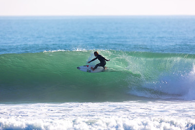 Surfing  at Rincon,USA  Date: Jan 2014 Time: 07:15.PM Model: Canon EOS 5D Mark III Lens: EF600mm f/4L IS USM