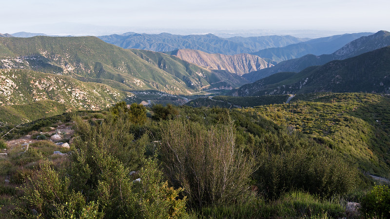 Afternoon in the San Gabriel Mountains
