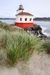 Lighthouse on the California Coast